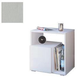Mesita, mesa auxiliar HOME - Color Aluminio Titán.