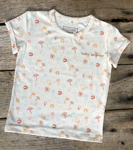 Tee-shirt 'mini surfeuse'