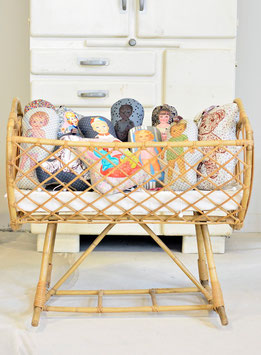 Moses Cradle in Rattan