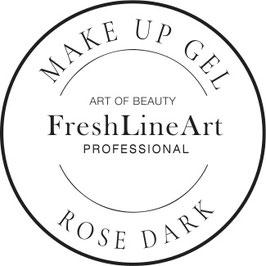Make UP gel Dark rose