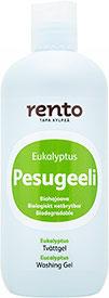 Rento Biologisch Abbaubares Waschgel Eualyptus 350 ml