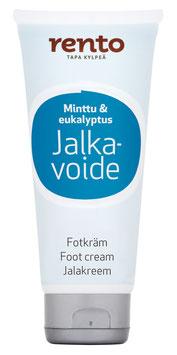 Rento Fußcreme Pfefferminz/Eukalyptus 100ml
