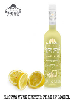 Laplandia Lemon Shot 37,5 % vol 700 ml