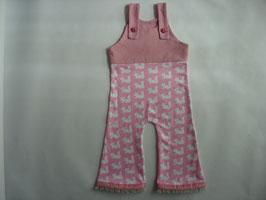 Baby-Strampler Eichhörnchen rosa