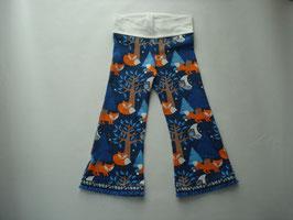 Hippie-Hosen Fuchs dunkelblau