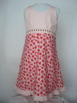Baumwollkleid Erdbeere