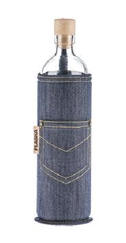 FLASKA - Trinkflasche / NEOPREN Jeans / 5dl