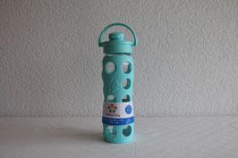 LIFEFACTORY Bottle - 650ml / Flip / TÜRKIS