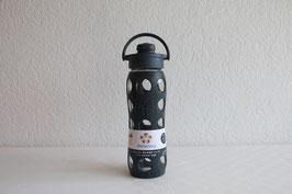 LIFEFACTORY Bottle - 650ml / Flip / Carbon