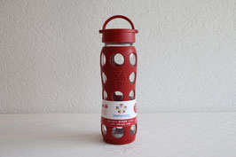 LIFEFACTORY BOTTLE / Classic / 650ml / Rot