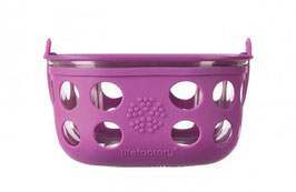 GLASS FOOD CONTAINER - 950ml / pink