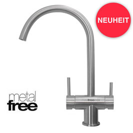 ARLES INOX 3-Wege-Armatur METAL-FREE
