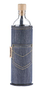 FLASKA - Trinkflasche / NEOPREN Jeans / 7dl