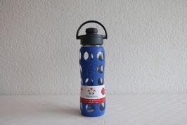 LIFEFACTORY Bottle - 650ml / Flip / BLAU