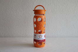 LIFEFACTORY BOTTLE / Classic / 650ml / Orange