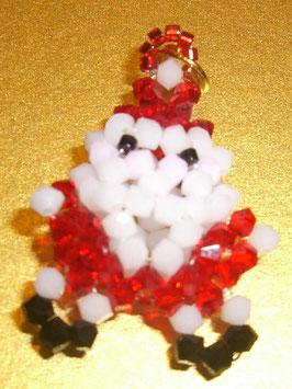 KIT Natale Swarovski Ciondolo Babbo Natale Stella