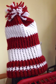 2 Color - Knit Hats - Many Colors - 2 Sizes