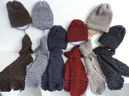Mix & Match: Hats, Scarves, Boot Cuffs, Mittens and Hoodies. - Youth and Adult