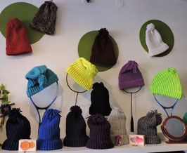 1 Color - Knit Hats - Many Colors - 2 Sizes