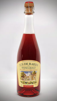 Jus de raisin rouge - Pétillant