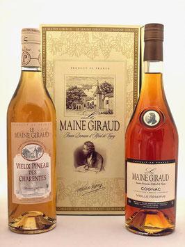 Coffret Cadeau Cognac/Pineau