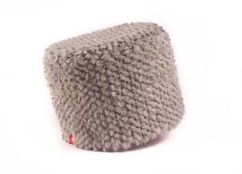 Bergün Mütze rondo steingrau
