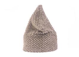 Bergün Mütze retro steingrau