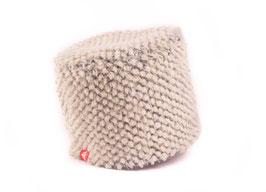 Bergün Mütze rondo grauweiss