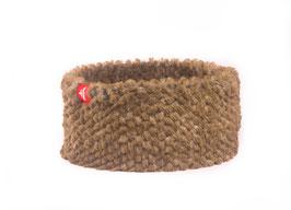 Bergün Stirnband steinbeige