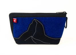 Alpensteinbock M kl. königsblau/noir
