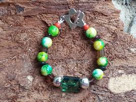 Kinder Armkette Green Smaragd