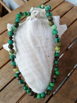 Ethno Perlen Halskette Kerry