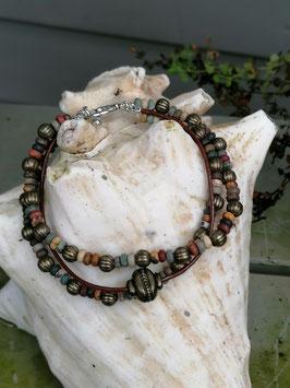 Mehrsträngiges Perlen Armband Virginia