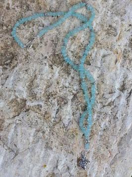Lange Perlen Halskette Mermaid