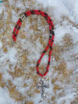 Ethno Boho Perlen Halskette Nazareth