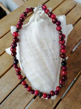 Ethno Perlen Halskette Granada