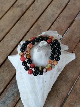 Zweireihiges Perlen Armband Giuseppa