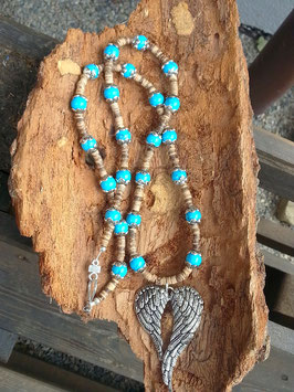 Engel Perlen Halskette Angel of Freedom