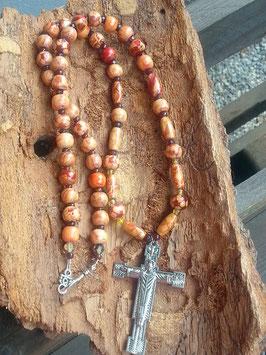 Rosenkranz Perlen Halskette God's Blessing