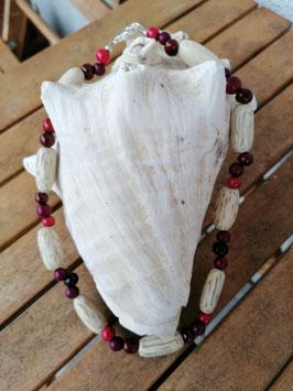 Ethno Perlen Halskette Nara