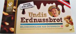 UNDIS Erdnussbrot Vollmilch 140g