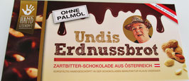 UNDIS Erdnussbrot Zartbitter  140g