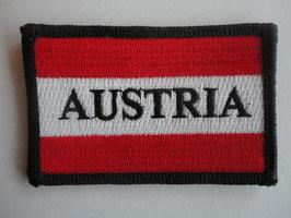 """Österreich Aufnäher 6 """"Austria"""""""