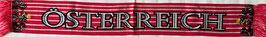 Fanschal Österreich  rot/weiß/rot 2018 Nr.1