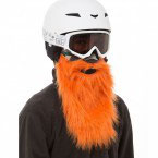 Ski Maske Hunter mit Bart orange