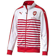 Arsenal Trainings Jacke im Retro look