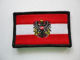"""Aufnäher Österreich  """"Fahne mit Adler""""  Nr.11"""