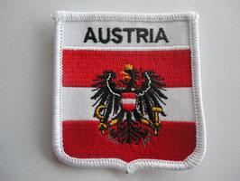 """Aufnäher Österreich 3 """"Austria"""""""