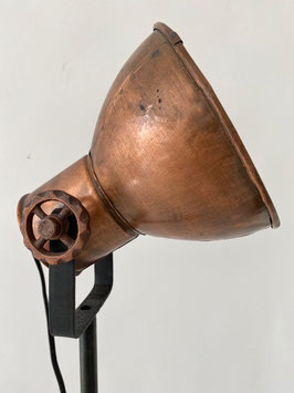 Staande lamp-kap koper
