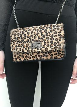 Leopard shoulder bag